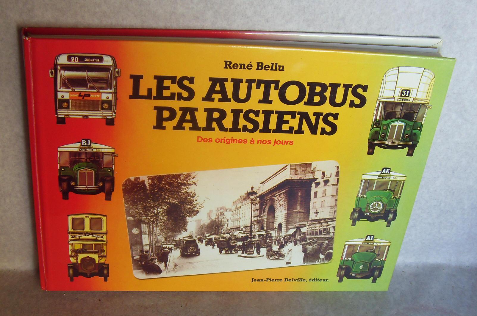 Les autobus parisiens des origines 1980 par ren bellu 1979 top illustratio - Point relais luxembourg ...