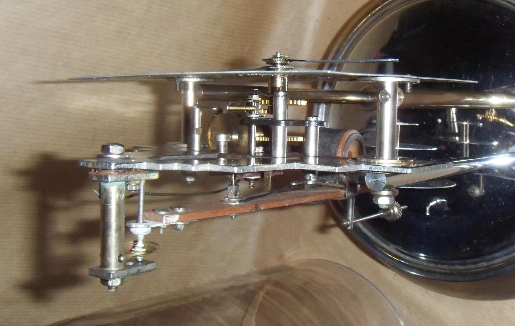 Pendule electrique art deco 800 jours style ato ou bulle clock 1930 ebay - Point relais luxembourg ...